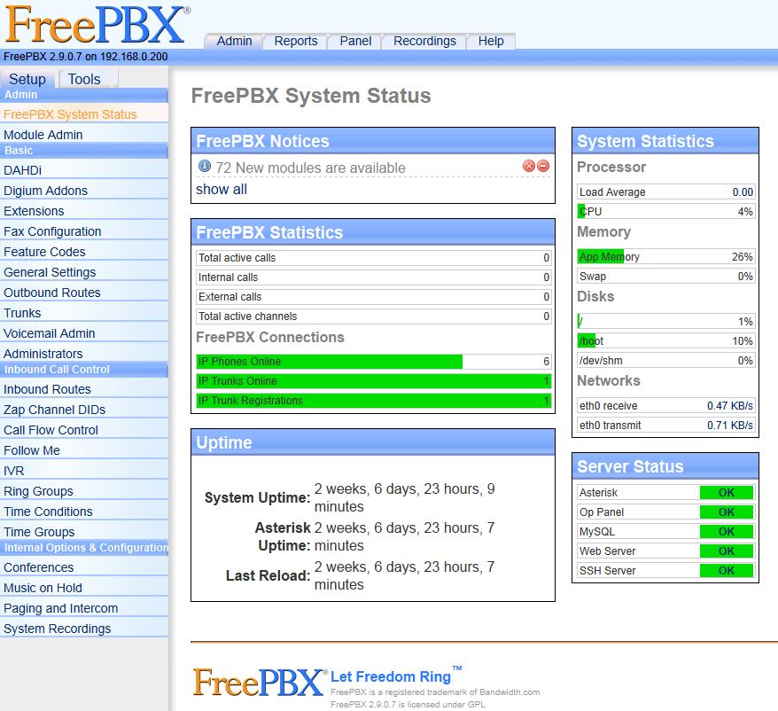 Asterisk Home Server | Flisol Home