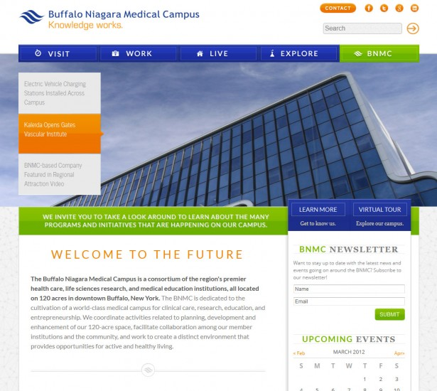 Buffalo Niagara Medical Campus Launches New Site Redesign ...