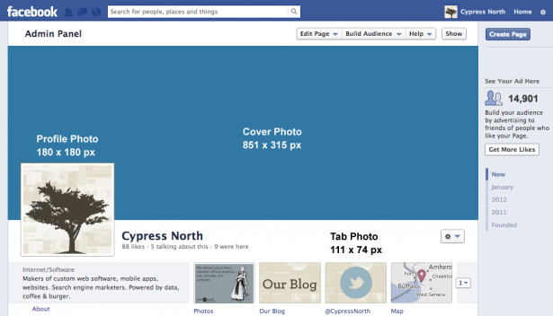 Facebook Cover Photo Template Download