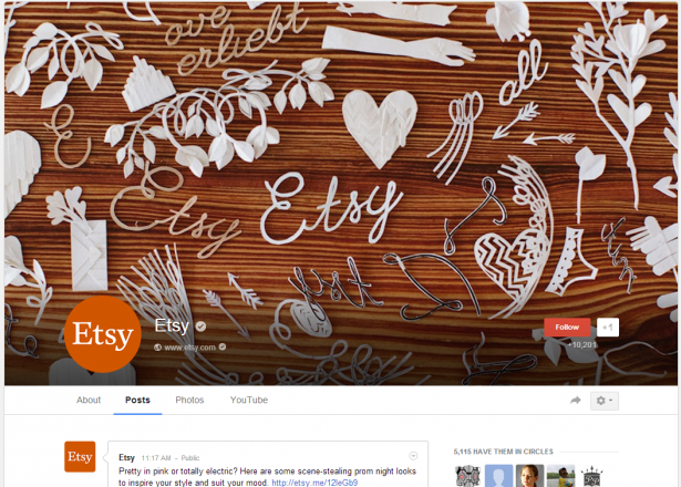 Etsy Cover Photo