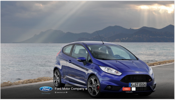 Ford Motors Cover Photo Image